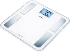 Beurer BF850 - Personenweegschaal lichaamsanalyse - Bluetooth - 180kg - Wit