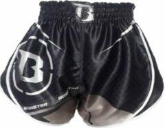Grijze Booster Muay Thai Short B Force 2 Kickboks Broekje Kies uw maat Kickboks Broek: M = maat 30/31 | 60-70kg