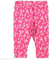 Roze Name it Meisjes Legging - Knockout Pink - Maat 50