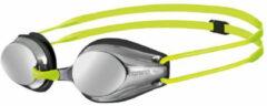 Gele Arena Tracks Jr zwembril (spiegelglazen) - Zwembrillen