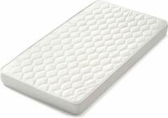 Gebroken-witte Matrassenmaker - Topmatras 70x190 dubbeldoek koudschuim HR55 medium topper