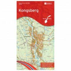 Nordeca - Wander-Outdoorkarte: Kongsberg 1/50 Auflage 2015