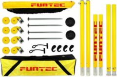 Gele Funtec Beachvolleybal Pro Beach Set