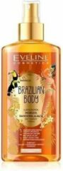 Eveline Cosmetics Eveline - Brazilian Body Luxurious Self-Tanning Mist For Face And Body 5In1 150Ml