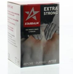 Star Balm Rood - Spierbalsem - 25 g - Voor/tijdens/na het Sporten