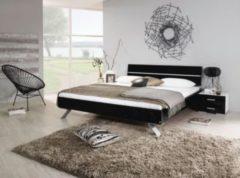 Rauch-PACKs Bett 180 x 200 cm mit Nako-Set schwarz hochglanz/ alpinweiß RAUCH PACKS Mavi Plus