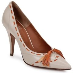 Beige Pumps Michel Perry CAMOSCIO
