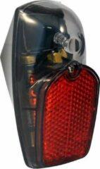 Union achterlicht EL2B batterij led 7,5 cm rood