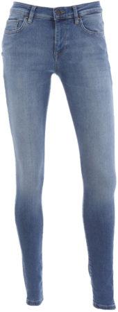 Afbeelding van Blauwe ONLY Dames Jeans ONLSHAPE LIFE REG Skinny fit W25 X L32