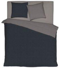 Wendebettwäsche schwarz grau Bettwaren-Shop schwarz grau