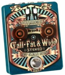 Lounsberry Pedals TFW-2 Tall, Fat & Wide Stereo FET Clean Boost