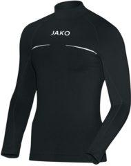 Zwarte Jako Turtleneck Comfort Sportshirt performance - Maat S - Mannen - zwart