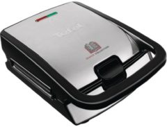 Tefal SW 852D sw/eds - Waffelautomat Snack Collection SW 852D sw/eds, Aktionspreis