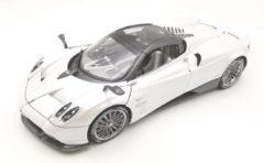 White Pagani Huayra Roadster