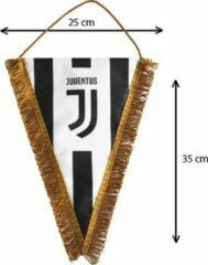 Juventus Wimpel - 35 x 25 cm - Wit/Zwart