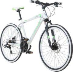 26 Zoll Galano Toxic Mountainbike Hardtail MTB Jugendmountainbike Jugendfahrrad weiss/grün