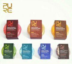 PURC Pakket 7 Organic Shampoo Bars 60g - vegan en geen chemicaliën