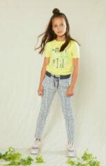 NoNo Meisjes zomer t-shirt - Kusu - Lime Light