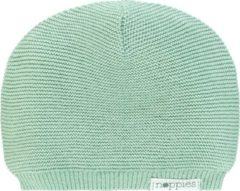Grijze Noppies U Hat knit Rosita - Grey Mint - Maat 3-6 mnd