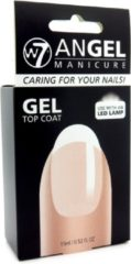 Transparante W7 Angel Manicure Gel UV Nagellak - Topcoat