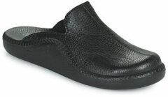 Westland MONACO 202 G - Volwassenen Heren pantoffels - Kleur: Zwart - Maat: 44