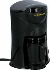 Zwarte Dunlop Koffiezetapparaat - 1 kop - 12V - incl. mok
