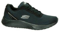 Zwarte Skechers Dual-Lite lage sneakers