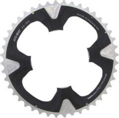 Ta Specialites Kettingblad Sismic 44t 9sp 104 Mm Zilver/zwart