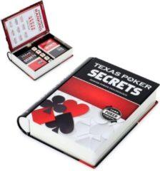 Rode Balvi pokerset Secrets 19 x 15 cm metaal zwart