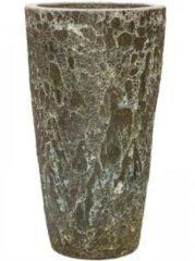 Baq Design Lava Relic Jade partner hoge bloempot 46x85 cm