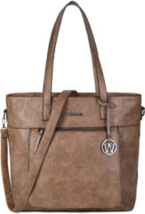 Wimona Evelina 4035 Shopper / Laptoptas - 15 inch - Taupe