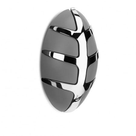 Afbeelding van Grijze Spinder Design Bug - Kapstok - Met Metalen Haak - Grijs - Chroom