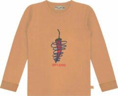 Smitten Organic 'Let's Salsa' T-Shirt - Maat 104