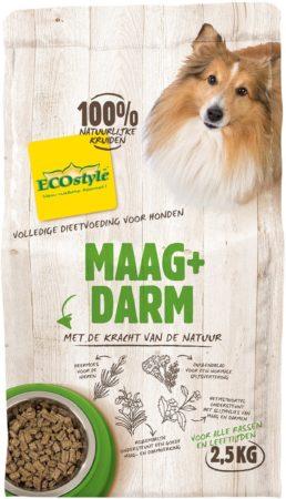 Afbeelding van Ecostyle Maag + Darm - Hondenvoer - 2.5 kg - Hondenvoer