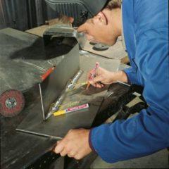 Edding 8750 - Industrie lakmarker - voor de professionals doos: 10 stuks - Wit