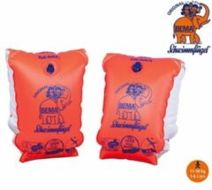 Oranje Bema Zwemvleugels Maat 0 - 1 tot 6 jaar