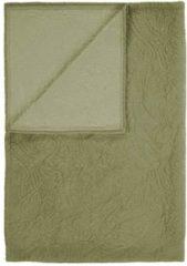 Groene Essenza Roeby - Bedsprei - Eenpersoons - 150x200 cm - Moss