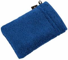 Donkerblauwe Vossen Washandje Vienna Style Supersoft - Blauw 22x16