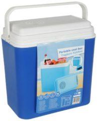 Blauwe Merkloos / Sans marque Koelbox 22 Liter (12V aansluiting)