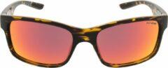 ICON Sport Zonnebril STORM - Tortoise montuur - Rood spiegelende glazen - GEPOLARISEERD (p)