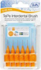 TePe Origineel Oranje - 0,45mm - Ragers - 3 x 6 stuks - Voordeelverpakking