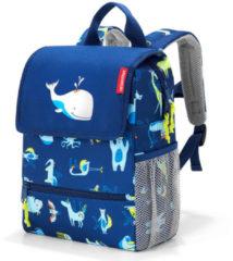Reisenthel Backpack Kids Rugzak - Polyester - 5L - ABC Friens Blue Blauw; multi kleur