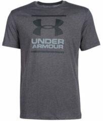 Antraciet-grijze Under Armour UA GL Foundation Short Sleeve