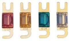 Necom PF-E60MWF Audiozekeringen Expert Mwf 60 A 2 Stuks (blauwe zekering)