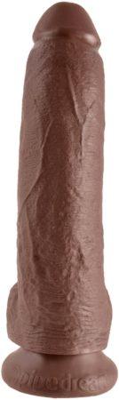 Afbeelding van Pipedream King Cock realistische dildo Cock - With Balls bruin - 10,25 inch