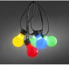 Konstsmide 2388-520 Party-lichtketting Buiten Energielabel: A (A++ - E) werkt op het lichtnet 10 + 80 LED Warm-wit Verlichte lengte: 4.5 m