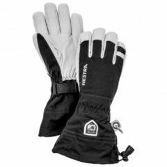 Hestra - Army Leather Heli Ski 5 Finger - Handschoenen maat 7, zwart/wit/grijs