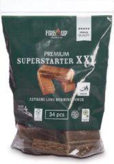 Fire-Up Aanmaakblokjes PREMIUM XXL superstarters (zak a 34 st)