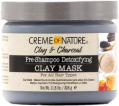 Creme of Nature Clay & Charcoal Pre Shampoo Detoxifying Clay Mask 326gr