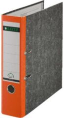 Leitz Ordners 1080 DIN A4 Rugbreedte: 80 mm Oranje Wolkenmarmor 2 beugels 10805045